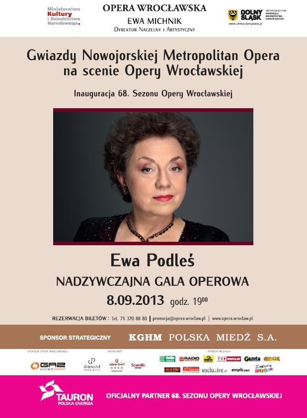 Inauguracja 68  Sezonu Opery Wrocławskiej